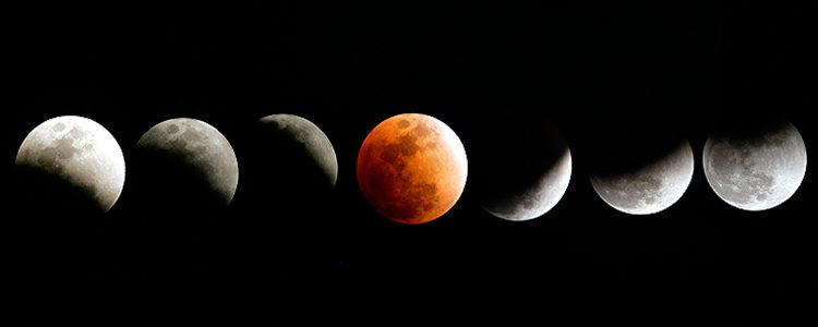 Eclipsa de Luna 09 ianuarie 2001