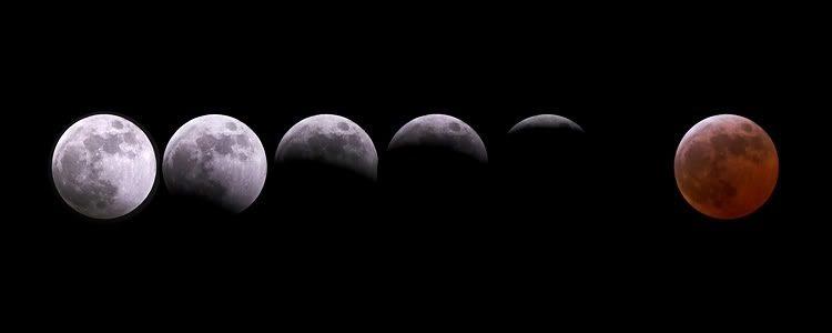 Eclipsa totala de Luna 15-16 Iunie 2011