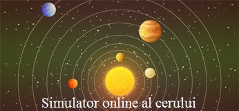 Simulator live al cerului