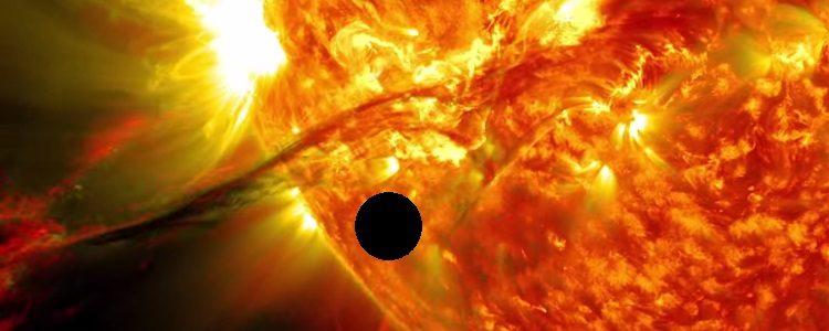 Tranzitul lui Venus pe Soare 6 Iunie 2012