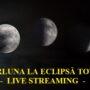 Live Streaming – Eclipsa totală de Lună 26.05.2021